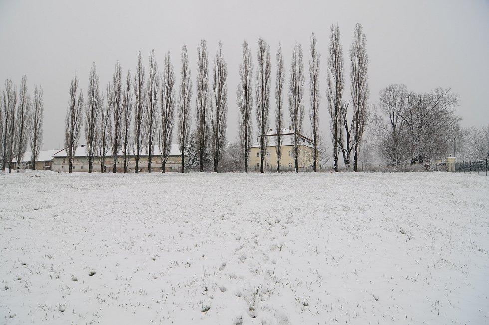 Do Horních Tošanovic se vrátila zima.