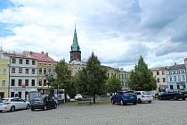 Zámecké náměstí ve Frýdku.