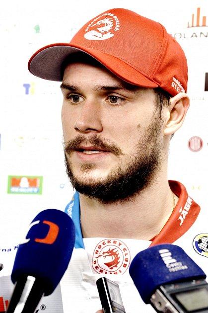 Po zápase poskytl Kundrátek svůj první rozhovor po návratu do Třince.