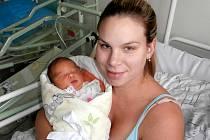 Ema Foltýnová s maminkou, Vojkovice, nar. 11. 11., 50 cm, 3,47 kg.  Nemocnice ve Frýdku-Místku.