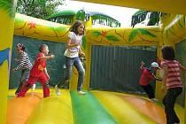 V areálu u frýdlantské restaurace Park se konalo zábavné odpoledne pro děti i dospělé.