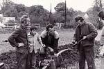 V roce 1970 započata výstavba vodovodu.