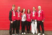 Šestice mladých taekwondistů z Frýdku-Místku na evropském šampionátu v Anglii uspěla.