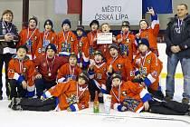 Hokejisté HC Frýdek-Místek (6. třída) skončili na turnaji v České Lípě stříbrní.