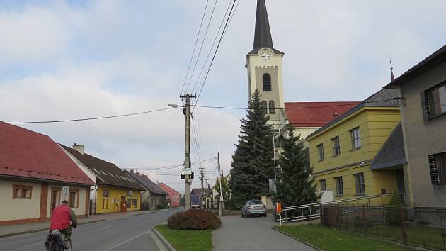 Kostel ve Starém Městě.