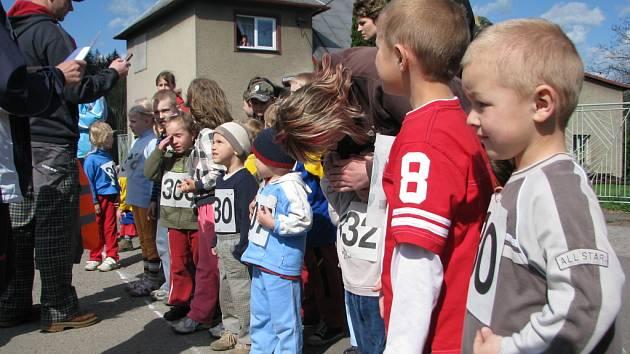 Běh Hrádkem se v sobotu 18.dubna uskutečnil již po patnácté.