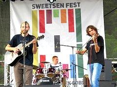 Sweetsen fest. Snímek z roku 2015.