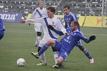 Fotbalisté třetiligového Frýdku-Místku prohráli ve své premiéře v Tipsport lize nad ligovou Sigmou Olomouc 2:5.
