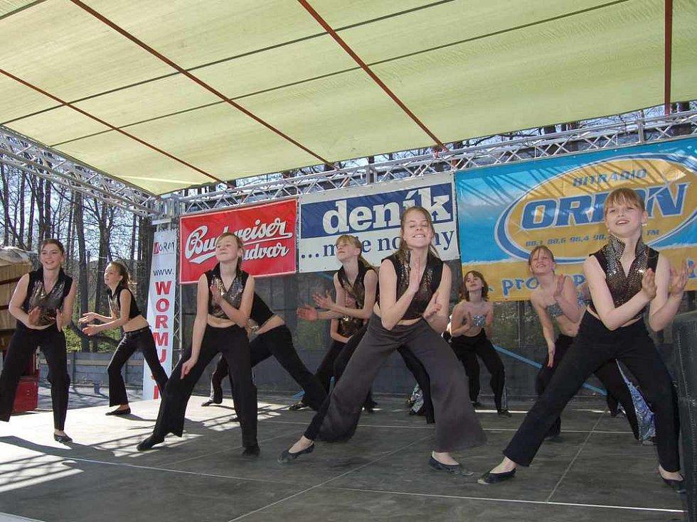 Vystoupení taneční skupiny Dream
