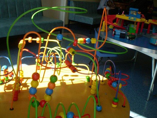 Jedna z hraček, kterou terapeutky používají.