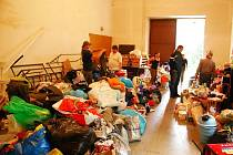 Humanitární sbírka pro občany ze zaplavených oblastí.