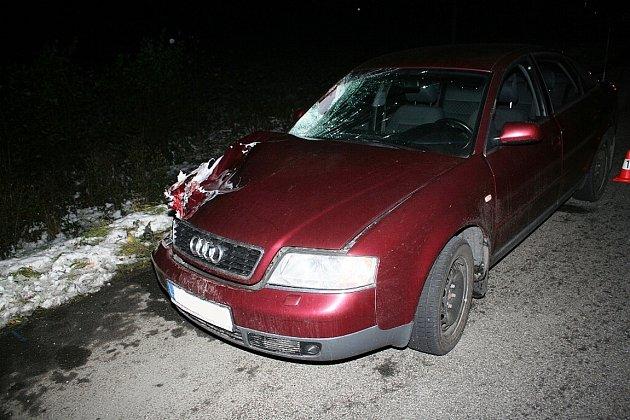 Výmluvný snímek zposlední tragické nehody schodcem, která se odehrála 30.října vBystřici nad Olší.
