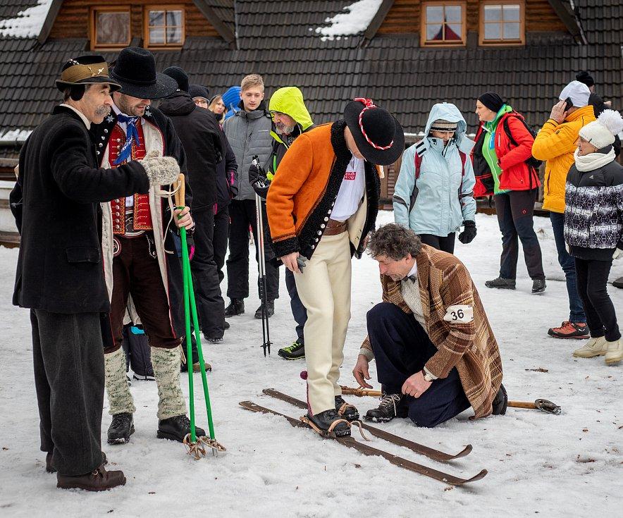9. ročník mezinárodního mistrovství ČR v historickém lyžování, 11. ledna 2020 ve ski areálu v Mostech u Jablunkova.