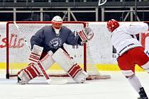 Brankář Šimon Hrubec si po české nejvyšší soutěži v Třinci vyzkouší angažmá v KHL. Ovšem v Číně.