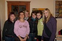 Studentky na stáži v Itálii.