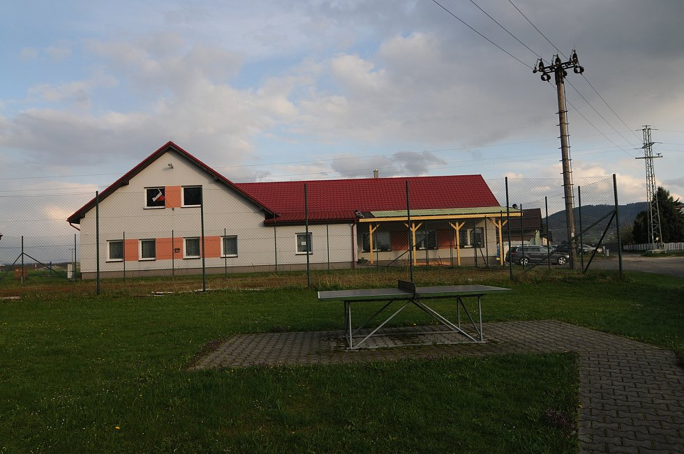 Budova obecního úřadu v Dolních Tošanovicích.