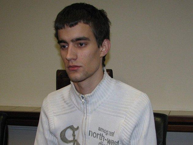 Dvaadvacetiletý Richard Doubravský.