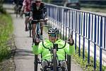Otevření nové cyklostezky, 23. června 2020 v Třinci.