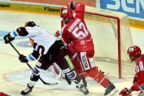 Oceláři na Spartě odehráli dobré utkání, závěr jim však nevyšel podobně jako ve Vítkovicích.