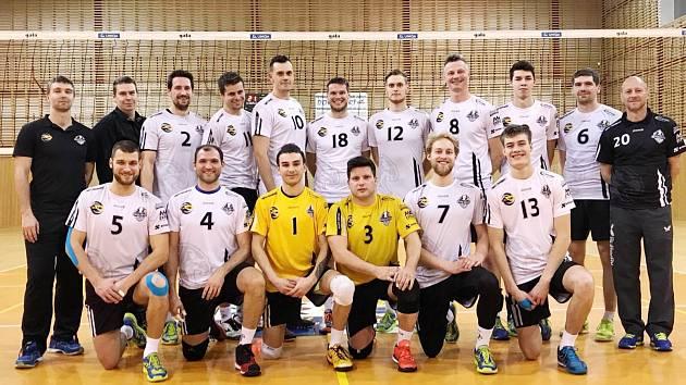Prvoligoví volejbalisté Black Volley Beskydy.
