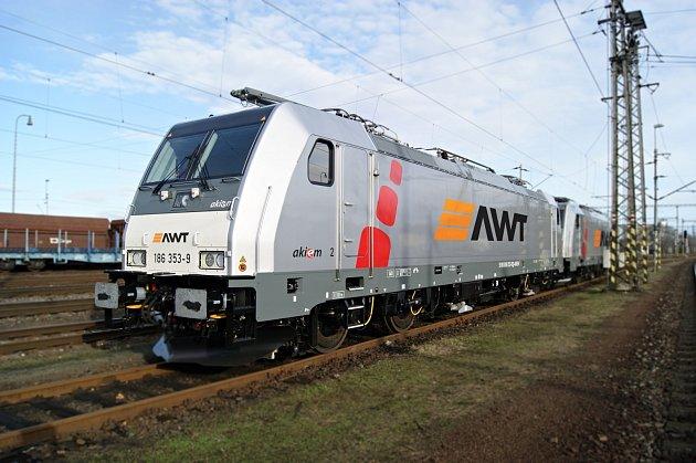 Lokomotiva Bombardier Traxx BR 186.