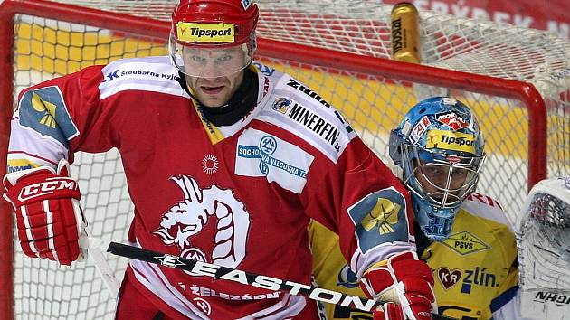 Václav Varaďa vlevo, vpravo Jakub Sedláček
