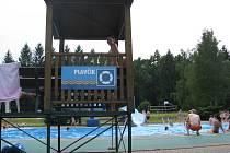 Třinecké koupaliště pod Javorovým. Ilustrační foto.