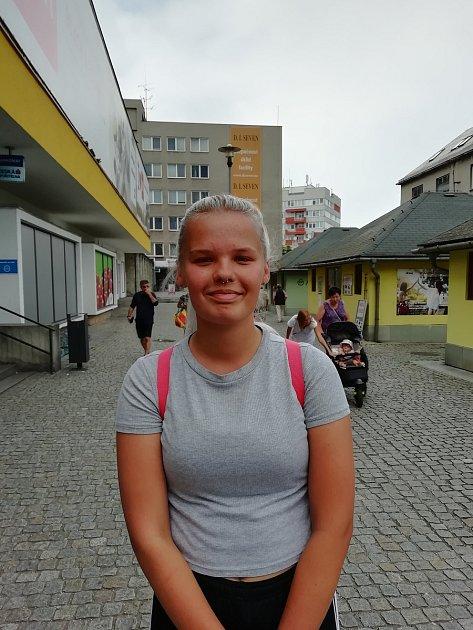 Michaela Adámková, 16, Frýdek-Místek. Foto: Deník/Tereza Liczmanová