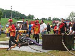 V Lubně se konala tradiční hasičská soutěž.