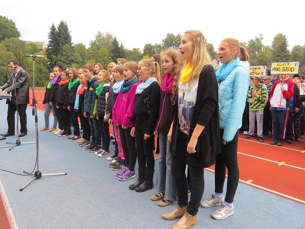 Ve Frýdku-Místku se v pátek 25. září uskutečnila Sportovní olympiáda v lehké atletice pro mládež s mentálním postižením.