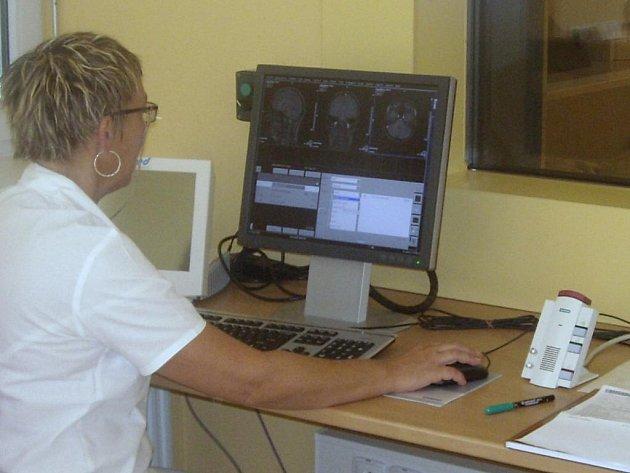 Magnetická rezonance v Nemocnici Třinec.