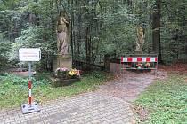 Klid oblíbeného turistického cíle ve frýdecko-místecké části Lískovec nedávno narušily stavební práce. Kdy bude studánka opět bez komplikací přístupná, není jasné.