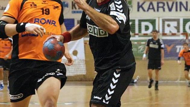David Kalous (v tmavém).