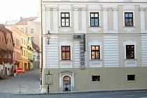 Pohled na Galerii Langův dům ve Frýdku.
