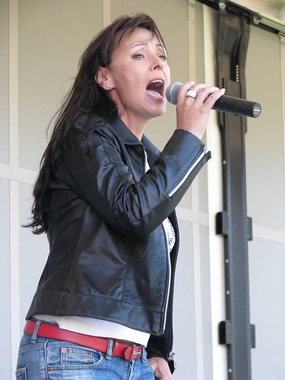 Heidi Janků si v Nošovicích zazpívala dvakrát.