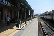 Vlak z Frýdku-Místku do Ostravy v úterý po třinácté hodině nevyjel. Cestující museli počkat, až skončí stávka.