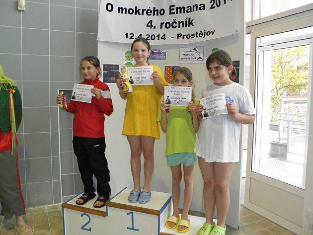 Mladé plavkyně sbíraly úspěchy.