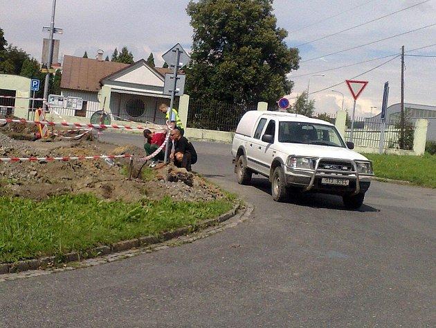 Granát na Slezské musel likvidovat pyrotechnik.