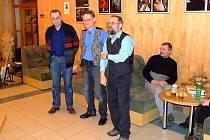 Trojice fotografů Radek Klímek, Luděk Krulikovský a Miroslav Lysek (zleva).