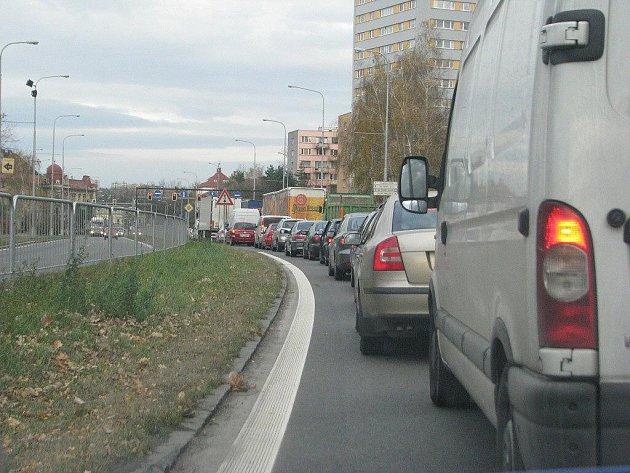 Tento pohled se naskýtá každému řidiči, který projíždí Frýdkem-Místkem.