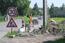 Oprava silnice.