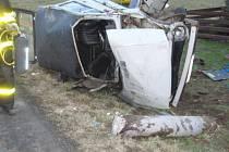 Vážná nehoda v Morávce.