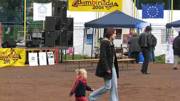 Bambiriáda 2008 ve Frýdku-Místku.