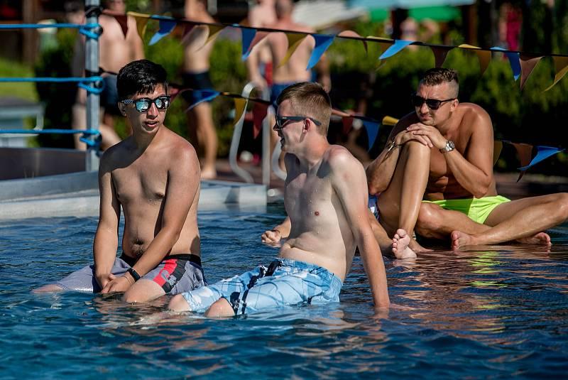 Letní aquapark Olešná, 30. července 2020 ve Frýdku-Místku.
