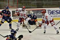 Hokejová extraliga Motor - Třinec. Foto: Jan Škrle