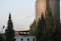 Areál firmy Agricoop Třinec.