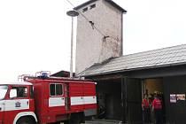 Hasičárna ve Vendryni je v současné době v hodně špatném stavu.