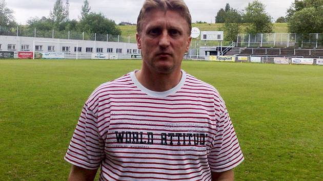 Nový trenér 1. SC Znojmo Oldřich Machala.