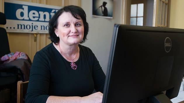 Lídryně KDU-ČSL v Moravskoelszkém kraji - poslankyně Pavla Golasowská, 13. zaří 2017 v Ostravě.