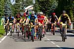 Sedmý ročník závodu Bike Čeladná odstartoval v sobotu v Beskydech. Foto: archiv pořadatelů